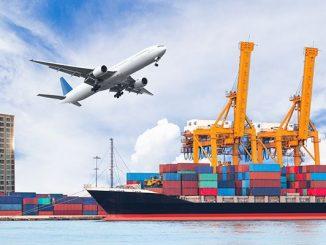 Vận tải đường hàng không, đường biển