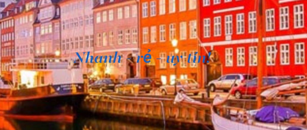 Dịch Vụ gửi hàng đi Đan Mạch