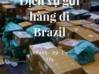 Dịch vụ gửi hàng đi Brazil